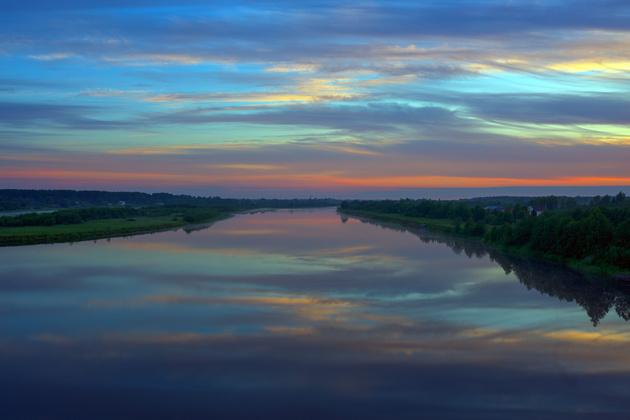 Река Паша, Ленинградская область Nikon D810 / Nikon AF-S 35mm f/1.4G Nikkor