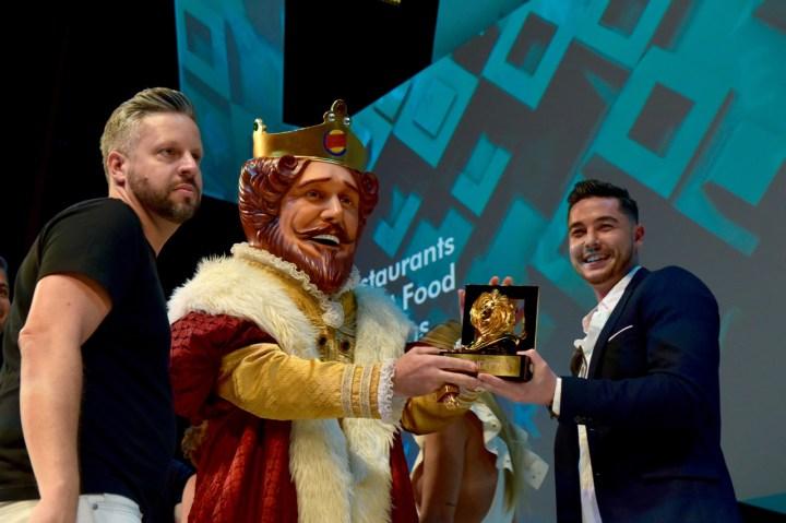 Grand Prix de Print, para David Miami, com Burger King