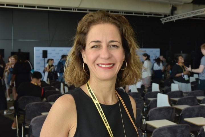 Andréa Alvares, vice-presidente de marketing da Natura, jurada em Glass