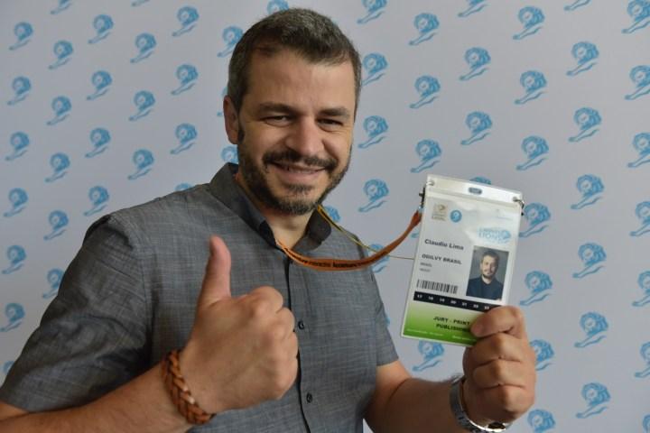 Cláudio Lima, diretor executivo de criação da Ogilvy, Print & Publishing