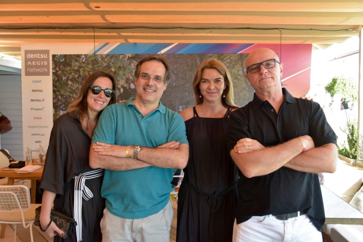 Carol Escorel, Abel Reis, Claudia Colaferro, Mário D'Andrea