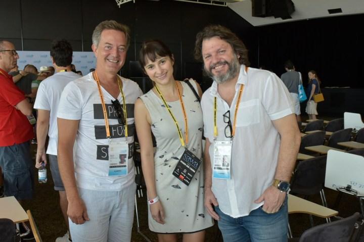 Eduardo Tibiriça (BossaNovaFilms), Roberta Reigado (Delicatessen Filmes), Gustavo Leme (Delicatessen Filmes)
