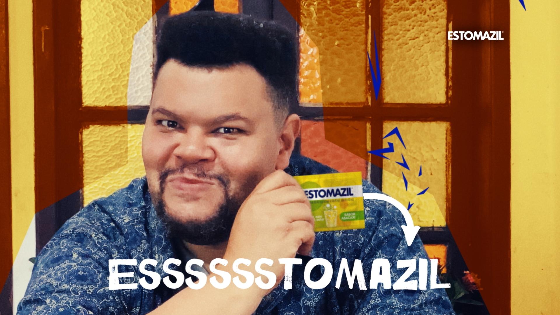 Babu Santana estrela a nova campanha de Estomazil - propmark