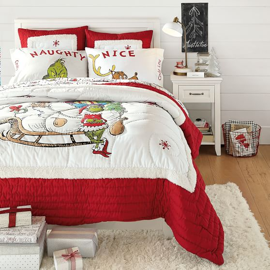 grinch pillowcases set of 2