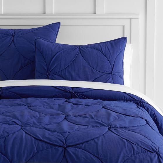 lavender quilted pillow shams white