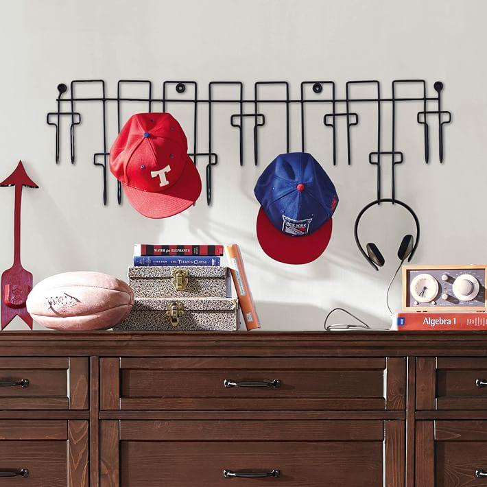 wire hat rack pottery barn teen