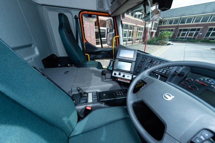 Inside the new high-tech gritter cabs