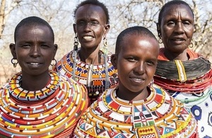 Women from the Kenyan community where everyone is joining the fight to end FGM. Jessica Lea/DFID