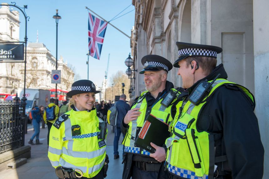Joint Project Servator deployment at Westminster.