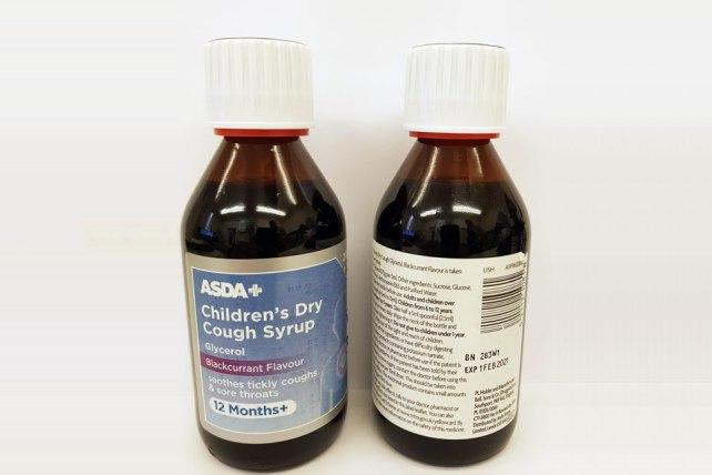Asda cough syrup