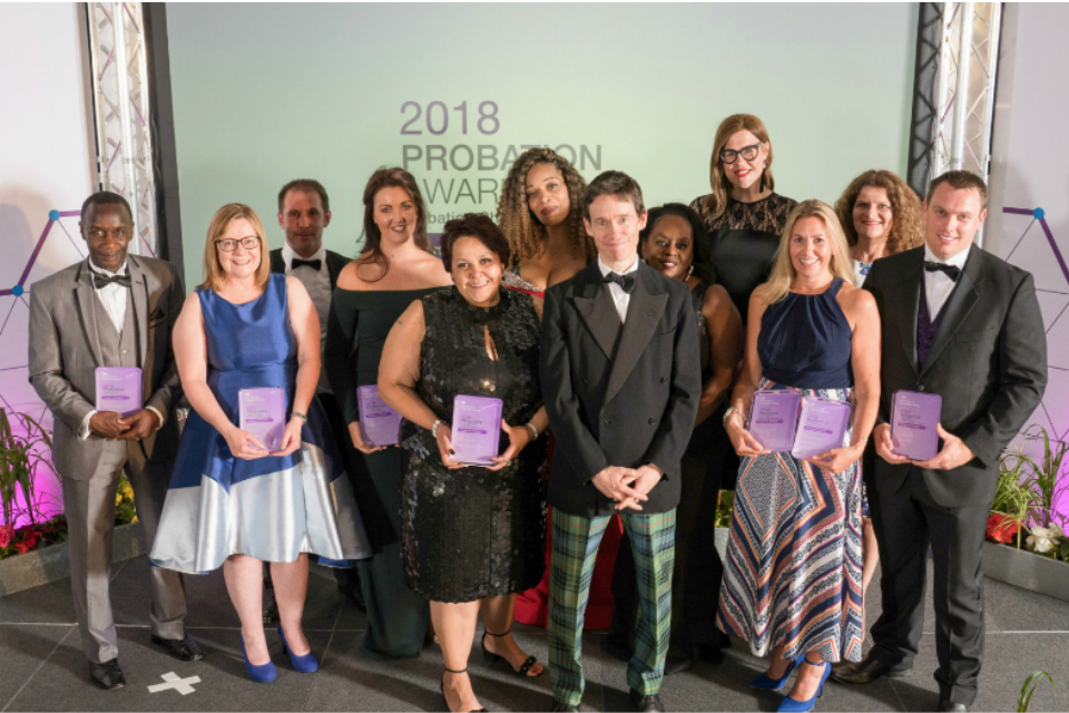 Probation Champion and Prison Officer of the Year 2018 Awards