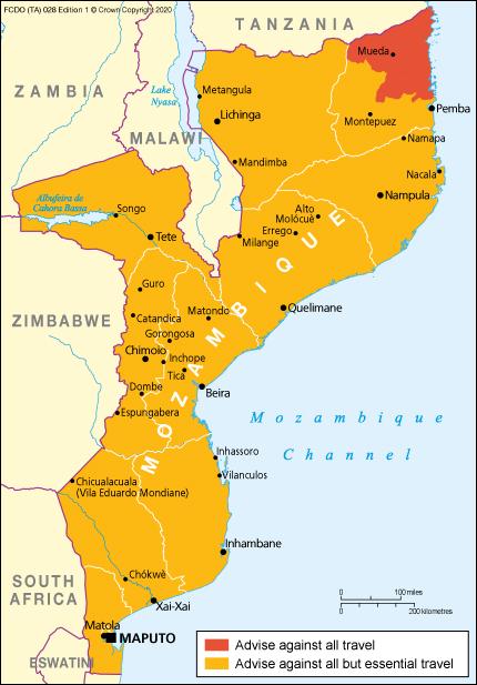 Coronavirus Mozambique Travel Advice Gov Uk