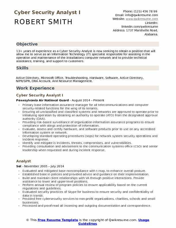 Job Technology Description Manager Information Security