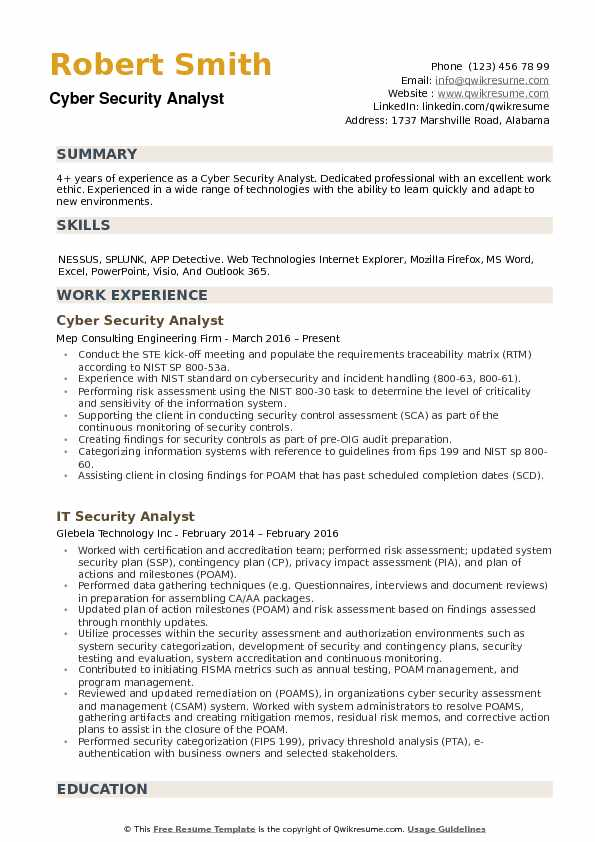 Security Manager Job Description Technology Information