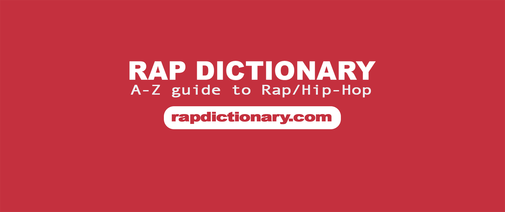 Hyphy Rap Dictionary