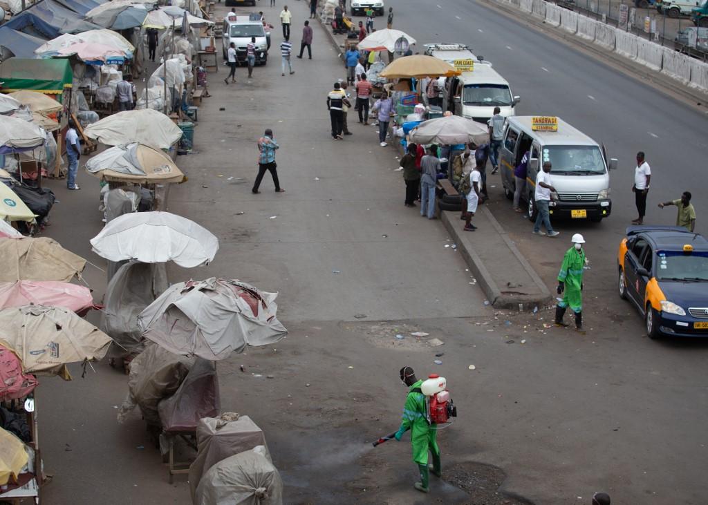 Ghana announces lockdown in 2 key regions