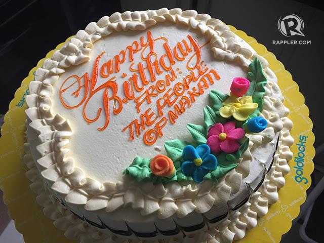 Makati Names Goldilocks As Supplier Of Birthday Cakes