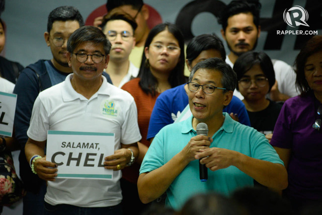 KEEP GOING. Chel Diokno wants his supporters to continue pushing for their advocacies beyond the May 13 elections.