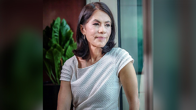 ENVIRONMENTAL CHAMPION. Former environment secretary Gina Lopez led a crackdown on erring mining companies during her 10-month stint in the Duterte Cabinet. Photo from the Facebook page of Gina Lopez