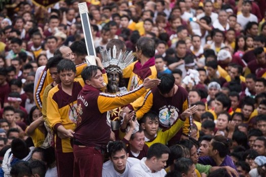 YEARLY TRADITION. The Feast of the Black Nazarene is expected to millions of devotees this year. File photo by Pat Nabong/Rappler