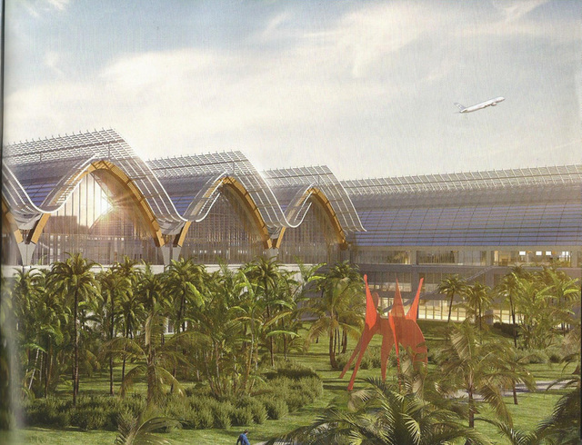 IN PROGRESS. Artists' rendition of the planned terminal 2 addition to Mactan-Cebu International Airport.