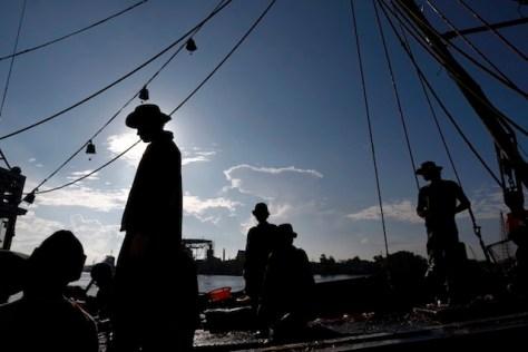 migrant fishermen