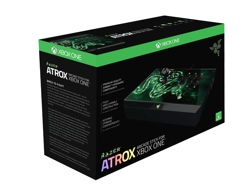Razer Atrox Arcade Stick For Xbox One Gaming Controller