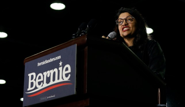 Rep. Rashida Tlaib has a plan to pay for a COVID-19 relief package that would give thousands of dollars to everyone — including illegals: Just mint two $1 trillion coins