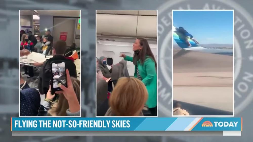 Bad behavior on flights soars: FAA says number of reported cases this year is 10 times annual average — and we're only 4 months in