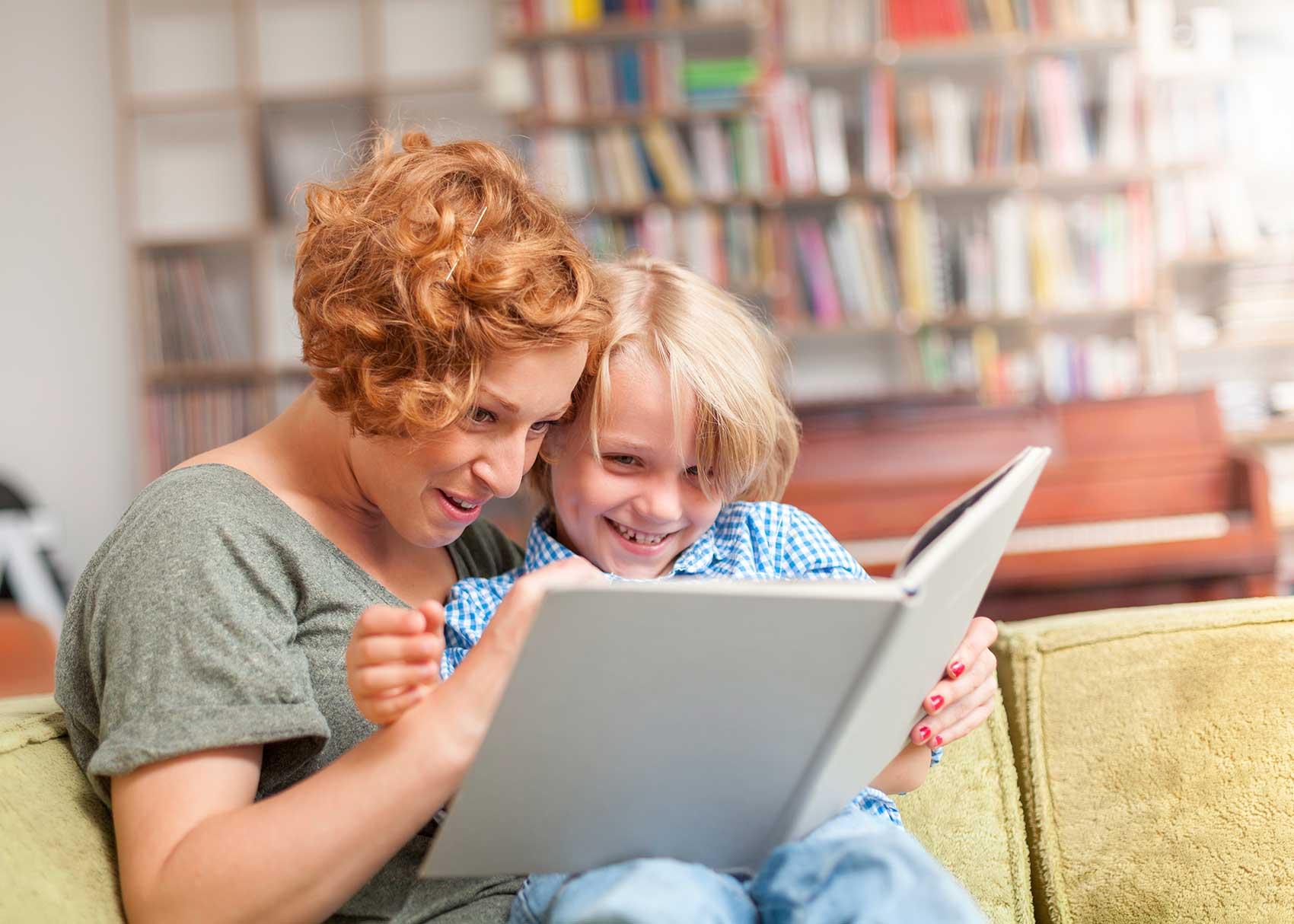 How To Read Books Like A Mom