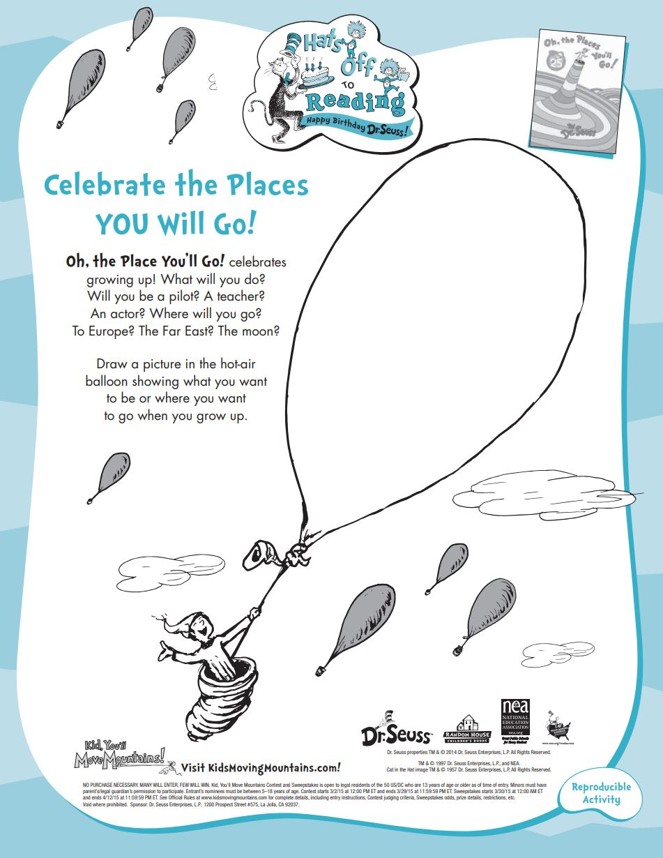 Dr Seuss Printables And Activities Brightly