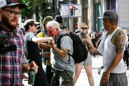 Image result for VIDEO: PORTLAND ANTIFA USE VIOLENCE, CROWBAR, AND WEAPONS IN COORDINATED ASSAULTS - JUNE 29, 2019 - JUNE 30, 2019