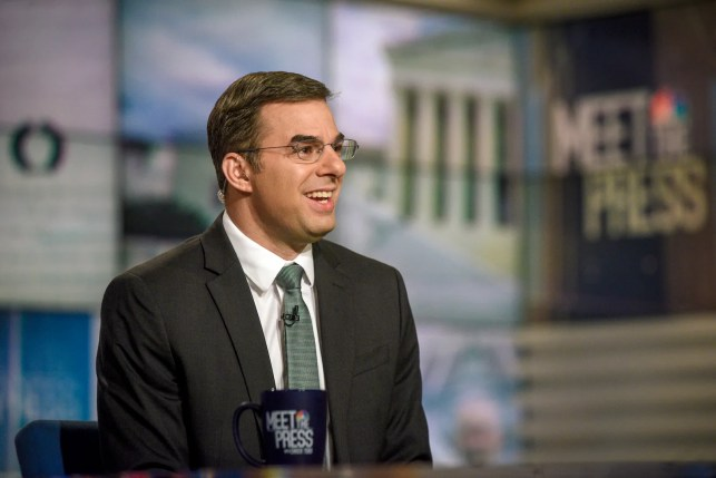 Justin Amash's candidacy could hurt Joe Biden more than Donald Trump, according to new poll