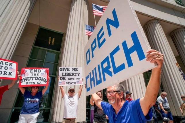 1,200 California pastors will defy Gov. Gavin Newsom's order and resume in-person church services