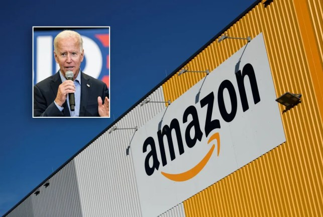 Amazon blisters Joe Biden in scathing response after he tells company to 'pay its fair share'