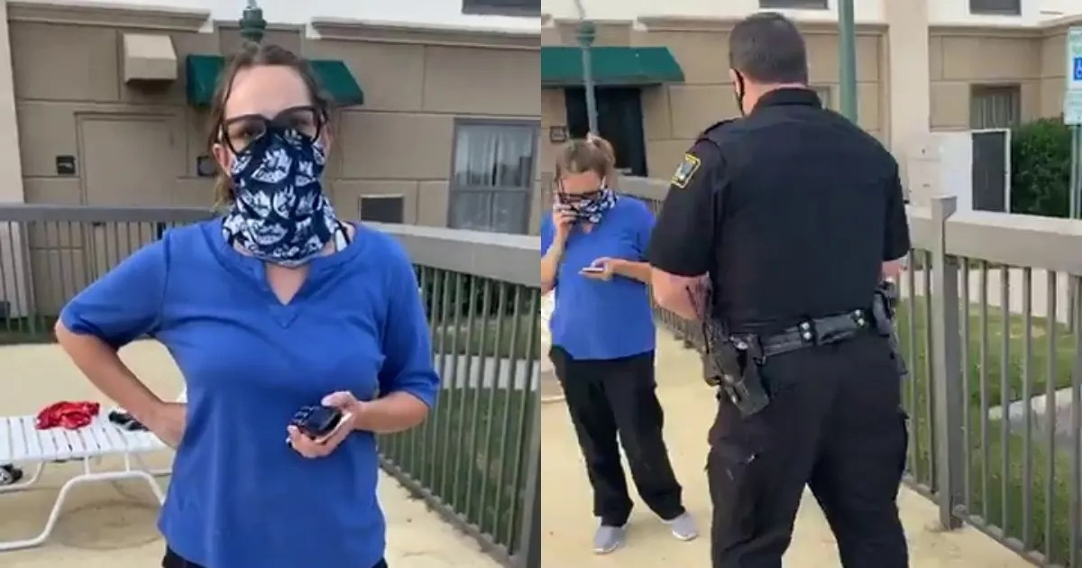 """(Terminated) Hampton Inn """"Karen"""" calls cops on YOU GUESSED IT -> Black Guest for being at pool!"""