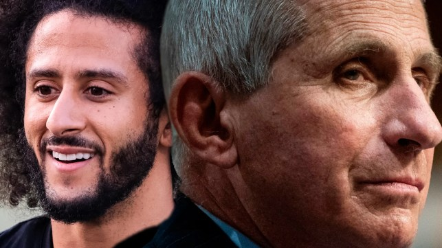 Colin Kaepernick, Dr. Anthony Fauci set to receive Robert F. Kennedy Human Rights Award for being 'human rights defenders'