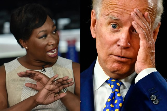 Joy Reid joins online mob slamming Biden for another criticism of Kamala Harris from 'very white' VP search team