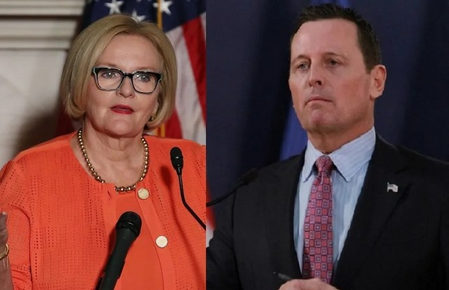 Ousted Democratic Sen. Claire McCaskill tries to dunk on Richard Grenell. It does not go well.