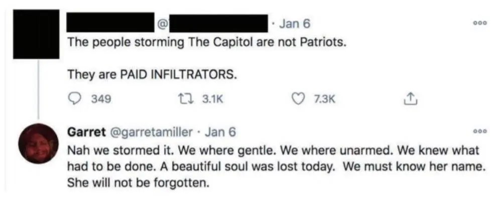 'Nah we stormed it. … We knew what had to be done'Capitol rioter apologizes for death threat..willing to testify in Congress