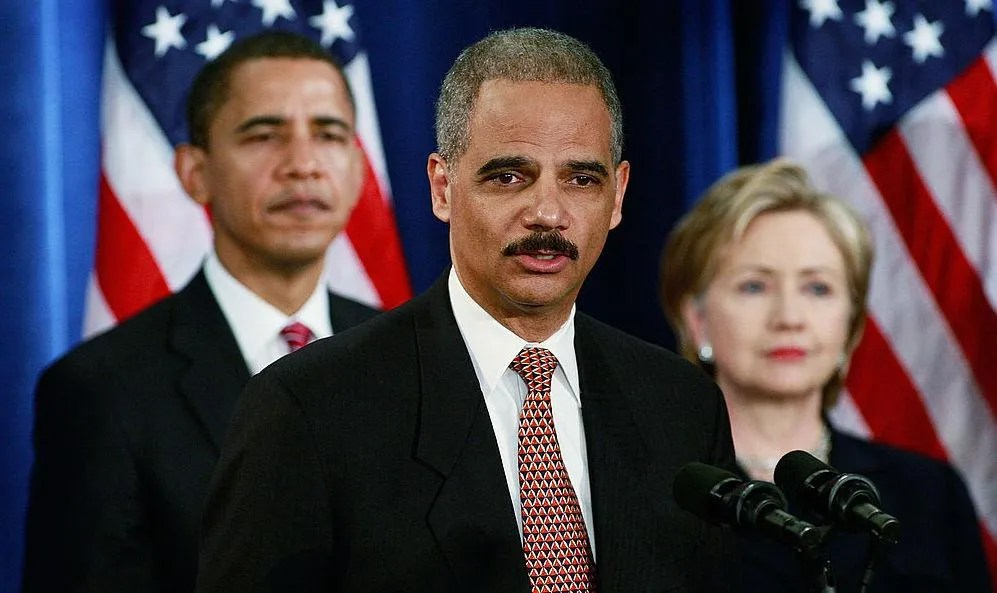 Eric Holder demands Democrats use their new power to pack courts: 'Necessary and totally appropriate'