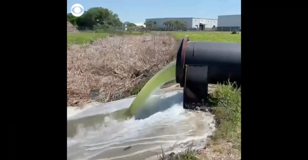 Florida declares state of emergency as reservoir — holding back hundreds of millions of gallons in radioactive wastewater — faces 'imminent' collapse