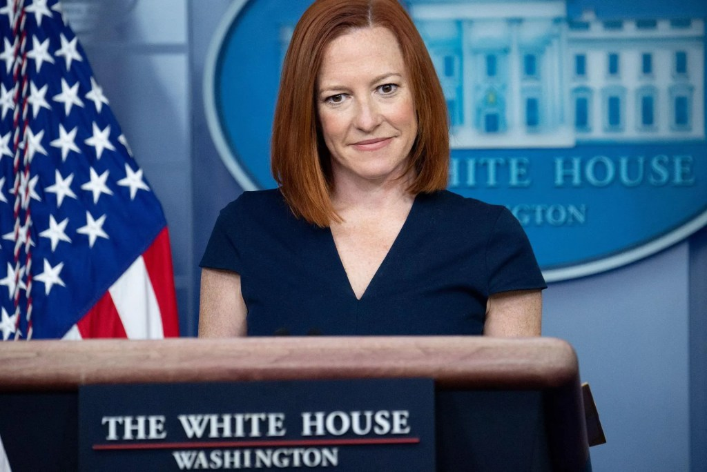 China warns US against boycotting Winter Olympics in Beijing. Jen Psaki says there's no talk of that.