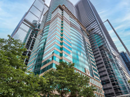 租用位於香港柏克大廈的商務中心 - 雷格斯(香港)