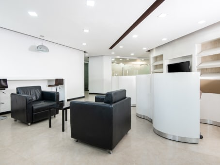 Sample office in Regus center, Kathmandu at Trade Tower Building