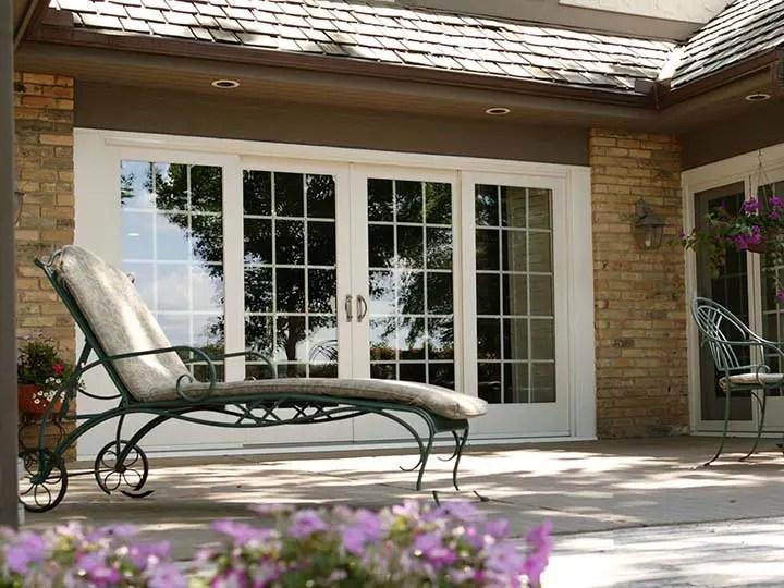 sliding frenchwood patio doors