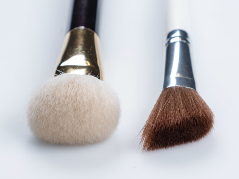 Brush Close-up for Makeup Brushes
