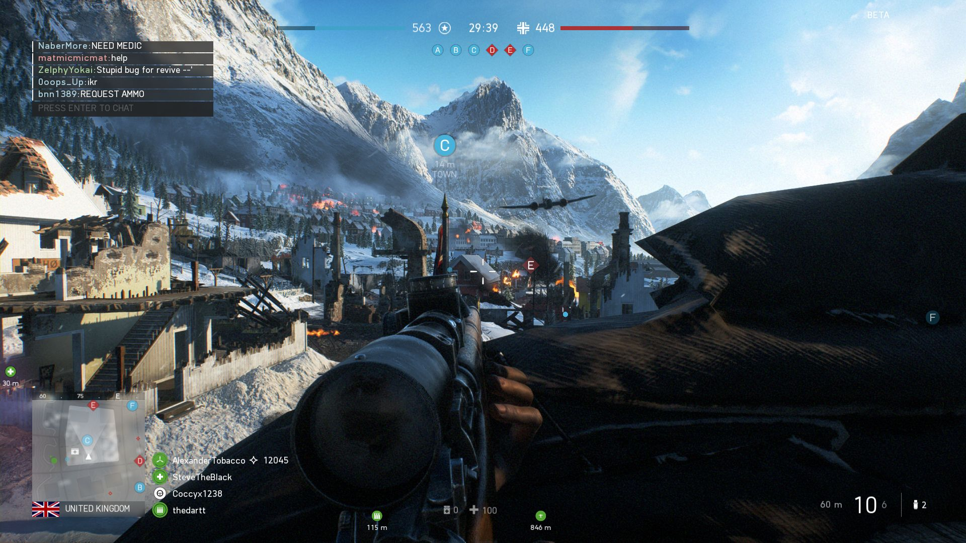 Battlefield V  It s not you  it s me   Rock  Paper  Shotgun Lying on the floor in the hopes of being revived might still be the most  boring part of Battlefield  but this time Dice have made sure there are  some voice