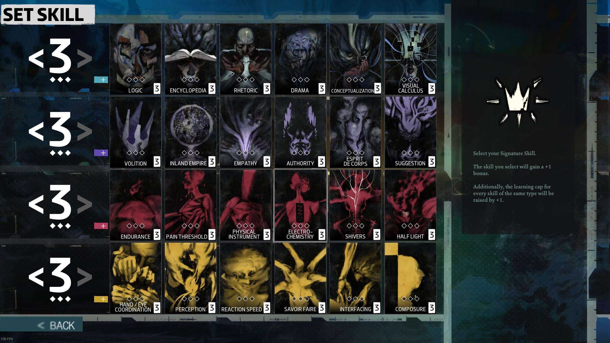 Disco Elysium skills - character creation guide