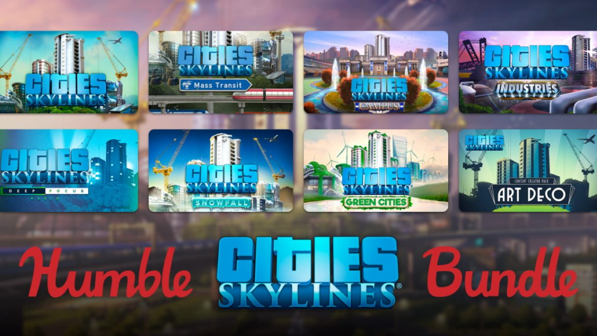 Cities Skylines Humble Bundle